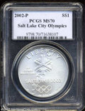 Modern Issues: , 2002-P Olympics MS70 PCGS. ...