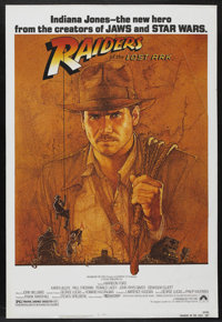 "Raiders of the Lost Ark (Paramount, 1981). One Sheet (27"" X 41""). Adventure"