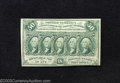 Fractional Currency:First Issue, First Issue 50c, Fr-1312, Choice-Gem CU. This straight edge ...