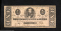 Confederate Notes:1863 Issues, 1863 $1 Clement C. Clay, T-62, Very Fine. This is a bright ...