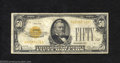 Small Size:Gold Certificates, 1928 $50 Gold Certificate, Fr-2404, Fine-VF. This is a very ...