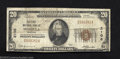 National Bank Notes:Montana, Missoula, MT - $20 1929 Ty. 1 The First NB Ch. # 2106