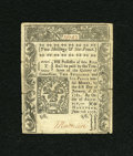 Colonial Notes:Connecticut, Connecticut June 7, 1776 2s/6d Fine CC....