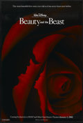 "Movie Posters:Animated, Beauty and the Beast (Buena Vista, R-2002). One Sheet (27"" X 40"")DS Advance. Animated...."