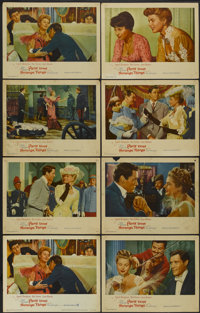 "Paris Does Strange Things (Warner Brothers, 1956). Lobby Card Set of 8 (11"" X 14""). Drama.... (Total: 8 Items)"