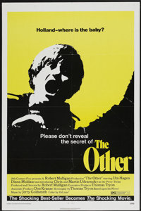 "The Other (20th Century Fox, 1972). One Sheet (27"" X 41"") and 4 Lobby Cards (11"" X 14""). Horror..."
