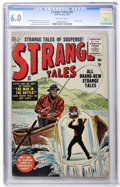 Golden Age (1938-1955):Horror, Strange Tales #35 (Marvel, 1955) CGC FN 6.0 Off-white pages....