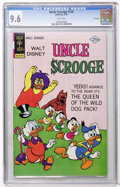 Bronze Age (1970-1979):Cartoon Character, Uncle Scrooge #128 File Copy (Gold Key, 1976) CGC NM+ 9.6 Whitepages....