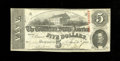 Confederate Notes:1863 Issues, T60 $5 1863. CC.. ...