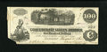 Confederate Notes:1862 Issues, T40 $100 1862. Cr-300.. ...
