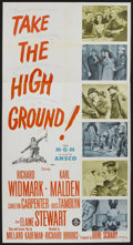 "Movie Posters:War, Take the High Ground (MGM, 1953). Three Sheet (41"" X 81""). War...."