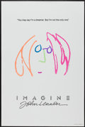 """Movie Posters:Rock and Roll, Imagine: John Lennon (Warner Brothers, 1988). One Sheet (27"""" X 41""""). Rock and Roll...."""
