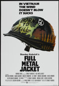 "Movie Posters:War, Full Metal Jacket (Warner Brothers, 1987). One Sheet (27"" X 40"")Advance. War...."