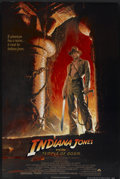 "Movie Posters:Adventure, Indiana Jones and the Temple of Doom (Paramount, 1984) Style A. One Sheet (27"" X 41""). Adventure...."