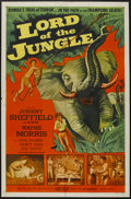 "Movie Posters:Adventure, Lord of the Jungle (Allied Artists, 1955). One Sheet (27"" X 41"").Adventure...."