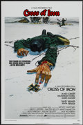 "Movie Posters:War, Cross of Iron (Miramax, 1977). One Sheet (27"" X 41""). War...."