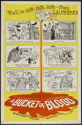 """Movie Posters:Horror, A Bucket of Blood (American International, 1959). One Sheet (27"""" X 41""""). Horror...."""