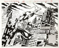 Original Comic Art:Splash Pages, Shawn McManus and John Nyberg - Spider-Man Unlimited #10, SplashPage 2 and 3 Original Art (Marvel, 1995)....