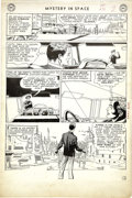 Original Comic Art:Panel Pages, Carmine Infantino and Murphy Anderson - Mystery In Space #72, AdamStrange page 2 Original Art (DC, 1961)....
