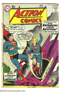 Action Comics #252 (DC, 1959) Condition: GD/VG. Origin and first appearance of Supergirl. Curt Swan cover. Overstreet 20...