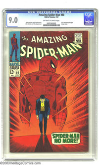 Amazing Spider-Man #50 (Marvel, 1967) Condition: VF/NM. First appearance of Kingpin. John Romita, Sr. cover and interior...