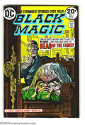 Bronze Age (1970-1979):Horror, Black Magic #1 (DC, 1973) Condition: NM. First issue. Joe Simon andJack Kirby reprints. Overstreet 2003 NM 9.4 value = $30....
