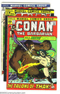 Bronze Age (1970-1979):Miscellaneous, Conan The Barbarian Group (Marvel, 1971-72) Condition: Average VG+.This lot consists of issues #11-15, 19, and 20. Barry Wi... (Total:7 Comic Books Item)