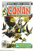 Bronze Age (1970-1979):Miscellaneous, Conan The Barbarian #75 and 76 Group - 35 Cent Price Variants(Marvel, 1977) Condition: VG. Scarce 35 cent price variants, l...(Total: 2 Comic Books Item)