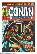 Bronze Age (1970-1979):Miscellaneous, Conan The Barbarian #23 and 24 Group (Marvel, 1973). Issue #23 (FN)has the first appearance of Red Sonja. Issue #24 (VF) ha... (Total:2 Comic Books Item)