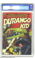 Golden Age (1938-1955):Western, The Durango Kid #7 (Magazine Enterprises, 1950) CGC VF 8.0 Off-white pages. Atomic weapon cover and story. Frank Frazetta ar...