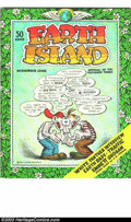 Bronze Age (1970-1979):Alternative/Underground, Earth Island #1 (Earth Island, Inc., 1970) Condition: NM. Robert Crumb cover art. Full of counter-culture articles and essay...