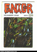 Bronze Age (1970-1979):Alternative/Underground, Fantagor #1, First print (Richard V. Corben, 1970). This is the first all Corben comic, you can definitely see the early inf...