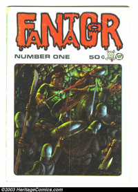 Fantagor #1, First print (Richard V. Corben, 1970). This is the first all Corben comic, you can definitely see the early...