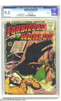 Golden Age (1938-1955):Horror, Forbidden Worlds #36 (ACG, 1955) CGC VF/NM 9.0 Off-white pages.Ogden Whitney cover and Kurt Schaffenberger artwork. Only CG...