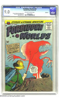 Silver Age (1956-1969):Horror, Forbidden Worlds #79 Bethlehem pedigree (ACG, 1959) CGC VF/NM 9.0Off-white to white pages. Ogden Whitney cover and John Bus...
