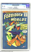 Silver Age (1956-1969):Horror, Forbidden Worlds #129 Bethlehem pedigree (ACG, 1965) CGC NM 9.4Off-white pages. Ogden Whitney artwork. Overstreet 2003 NM 9...