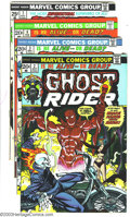 Bronze Age (1970-1979):Western, Ghost Rider #2-15 Group (Marvel, 1973-75) Condition: Average FN+. This lot consists of issues #2-15. Overstreet 2003 value f... (Total: 14 Comic Books Item)