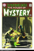 Silver Age (1956-1969):Horror, House of Mystery #181 (DC, 1969) Condition: VF+. Neal Adams cover;Bernie Wrightson ten-page story. Overstreet 2003 VF 8.0 v...