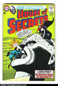 Silver Age (1956-1969):Horror, House of Secrets #65 (DC, 1964) Condition: VF-. Eclipso appearance;art by Alex Toth. Overstreet 2003 VF 8.0 value = $57....