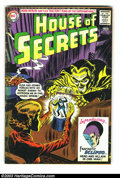 Silver Age (1956-1969):Mystery, House of Secrets Group (DC, 1963-69). Group of five issues -- #61,62, 64, 73, and 81 -- featuring the first appearance of E...(Total: 5 Comic Books Item)