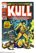 Bronze Age (1970-1979):Miscellaneous, Kull the Conqueror #1 (Marvel, 1971) Condition: NM-. Secondappearance and origin of Kull. Overstreet 2003 NM 9.4 value = $4...