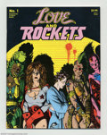 Modern Age (1980-Present):Alternative/Underground, Love and Rockets #1 (Fantagraphics Books, 1982). One of the most popular independent titles of all time, and this is the iss...
