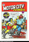 Silver Age (1956-1969):Alternative/Underground, Motor City Comics #1 - Fifth printing (Rip Off Press, 1969)Condition: NM. Featuring Lenore Goldberg and her Girl Commandos....