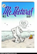 Bronze Age (1970-1979):Alternative/Underground, Mr. Natural #3 - First printing (Apex Novelties, 1977) Condition: NM-. All Robert Crumb art. Overstreet does not yet list va...