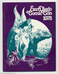 Memorabilia:Comic-Related, San Diego Comic Con Program from 1978 (San Diego Comic Con, 1978). Here is a nice copy of the program from the San Diego Com...
