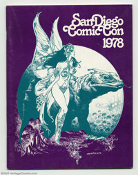 San Diego Comic Con Program from 1978 (San Diego Comic Con, 1978). Here is a nice copy of the program from the San Diego...