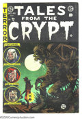 Golden Age (1938-1955):Horror, Tales From the Crypt #46 (EC, 1955) Condition: VG/FN. Lowdistribution, last issue. Art by Jack Davis, Joe Orlando andGraha...