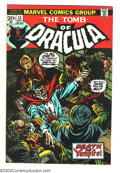 Bronze Age (1970-1979):Horror, Tomb of Dracula #13 (Marvel, 1973) Condition: VF+. Origin of Bladethe Vampire Slayer. Gene Colan and Tom Palmer art. Overst...