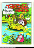 Bronze Age (1970-1979):Alternative/Underground, Tortoise and the Hare #1 (Last Gasp, 1971). Originally this book was supposed to be Air Pirates number three. The next t...