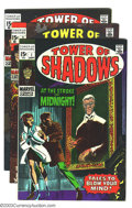 Silver Age (1956-1969):Horror, Tower of Shadows #1-7 Group (Marvel, 1969-71) Condition: AverageVF/NM. This lot consists of issues #1, 2, 3, 4, 5, 6, and 7...(Total: 7 Comic Books Item)